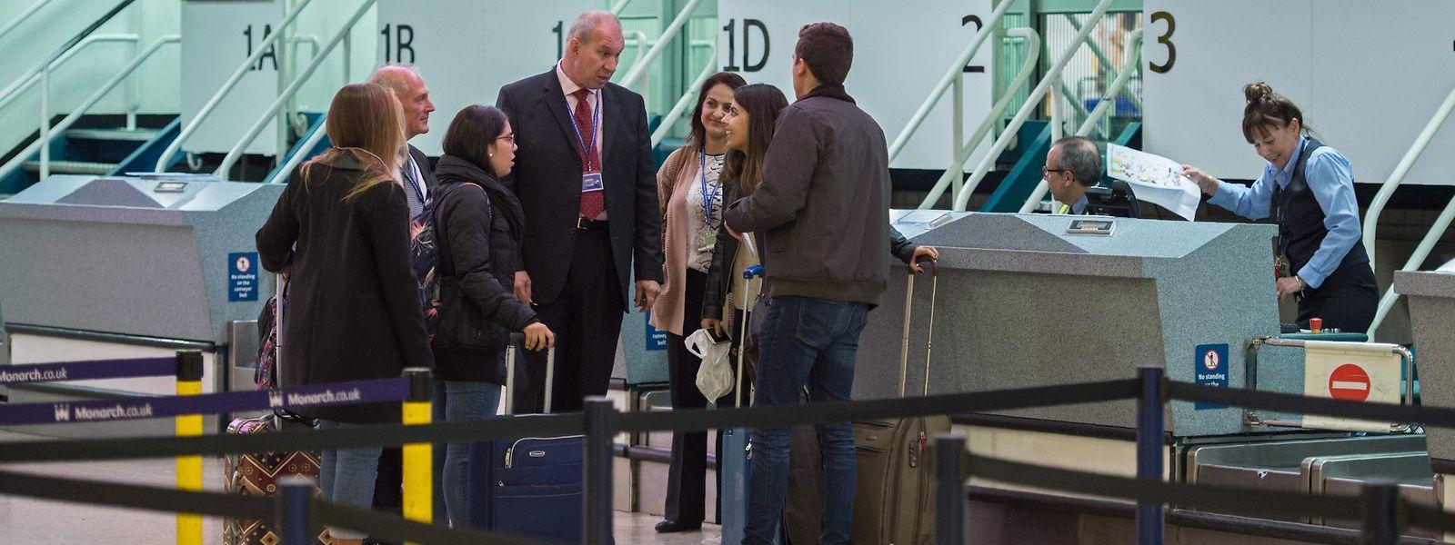 Sont concernés au Luxembourg, tous les vols qui partent du Findel ou qui viennent d'un pays tiers pour lequel le Luxembourg est la première destination au sein de l'UE.