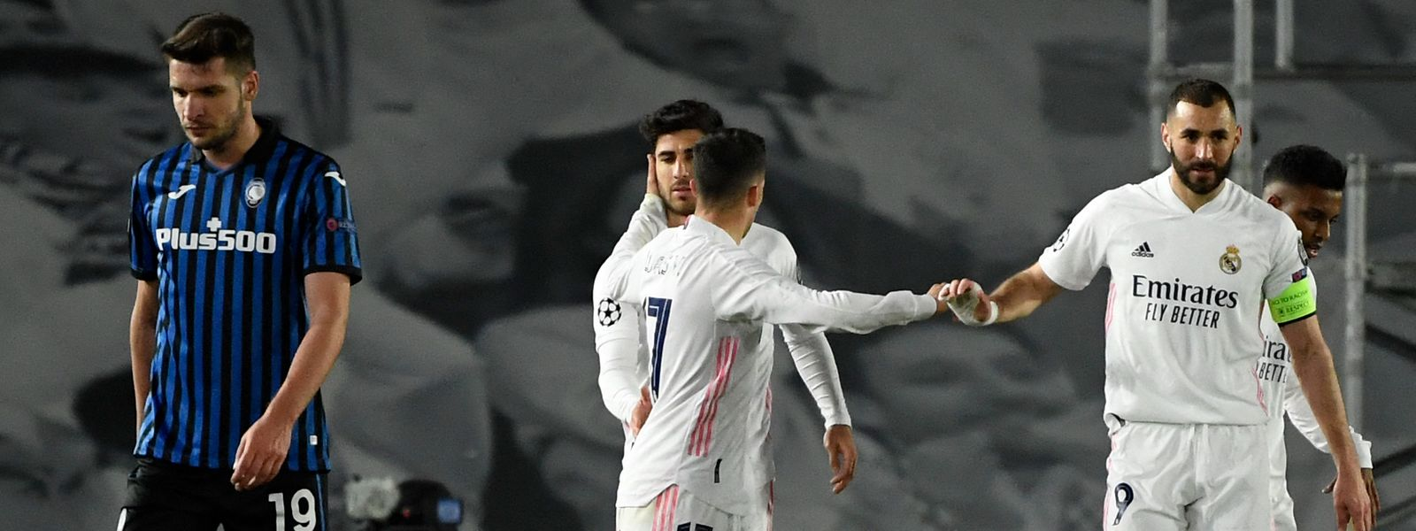 «Je joue à un poste où c'est moi qui dois terminer les actions. Donc tant mieux si j'arrive à aider mon équipe» confie le capitaine du Real à la fin du match.