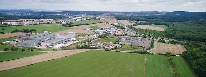 Local onde vai ser instalado o data center da Google em Bissen.