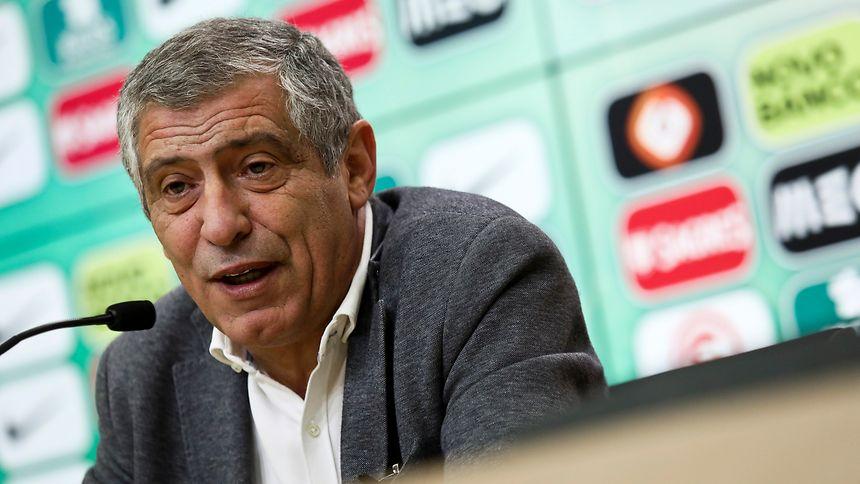 Fernando Santos convoca Portugal sem CR7 e outros titulares