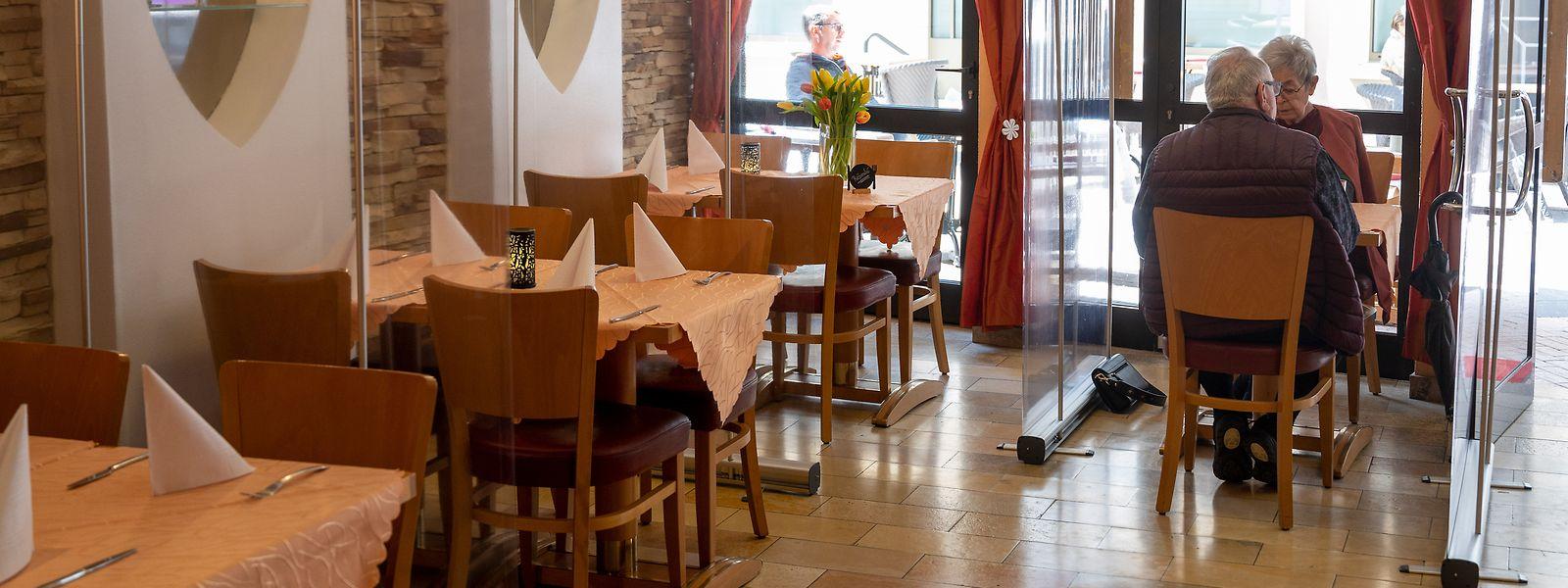 PCR ou rapide, les clients doivent présenter un test négatif à leur entrée dans le restaurant.