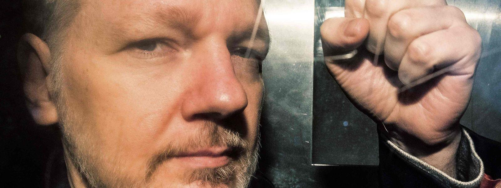 Julian Assange sitzt seit April 2019 in Großbritannien in Haft.