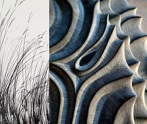 exposition EQUINOXE. ELSA / Yvon KERGAL. Maison Forestiere STAFELTER