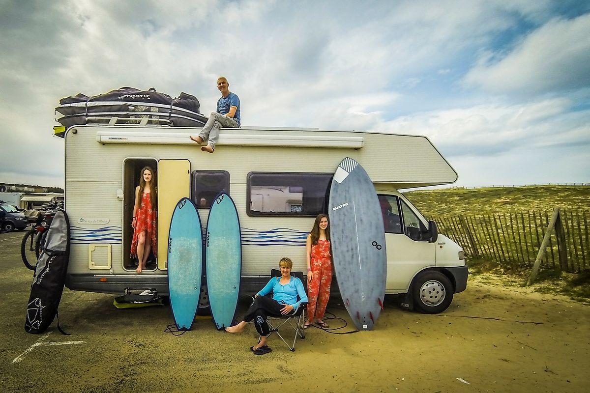 Hossegor an Frankreichs Atlantikküste ist bei Surfern aus ganz Europa beliebt.