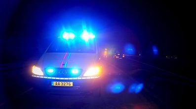 Die Polizei stellte den flüchtigen Unfallfahrer zu Hause.