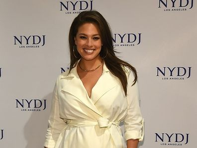 "(FILES): This January 28, 2016 file photo shows model Ashley Graham attending the NYDJ 2016 Fit To Be Campaign Launch at Lord & Taylor in New York City.  Sports Illustrated's yearly ""swimsuit issue"" will feature a size 16 model, a bold plus-size move by the US magazine, which puts out the edtion every February.  Ashley Graham, the 28-year-old who hit the catwalk in lingerie at New York fashion week last year, will appear in the magazine's buxom issue, which features women in barely there swimsuits.       Files/Ben Gabbe/Getty Images/AFP == FOR NEWSPAPERS, INTERNET, TELCOS & TELEVISION USE ONLY =="