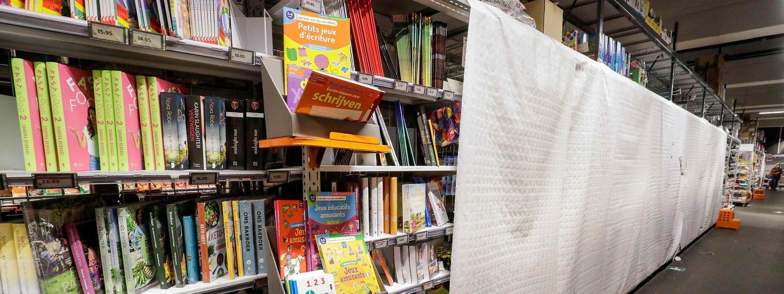 La Belgique a gardé ses librairies ouvertes contrairement à ce qui s'était passé durant le premier confinement.