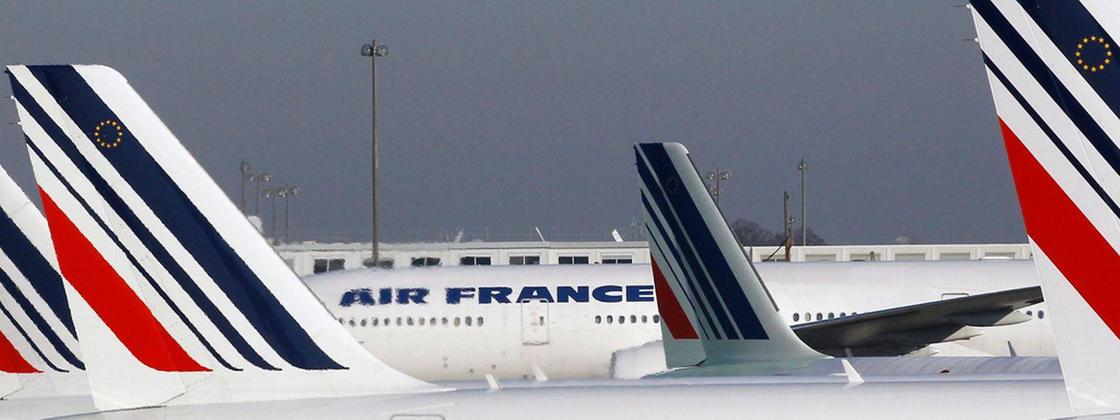 Air France erklärte, der Zwischenstopp zur Sicherheit der Passagiere erfolgt sei.
