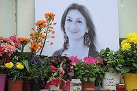 Daphne Caruana Galizia war am 16. Oktober 2017 unweit ihres Hauses in ihrem Auto in die Luft gesprengt worden.