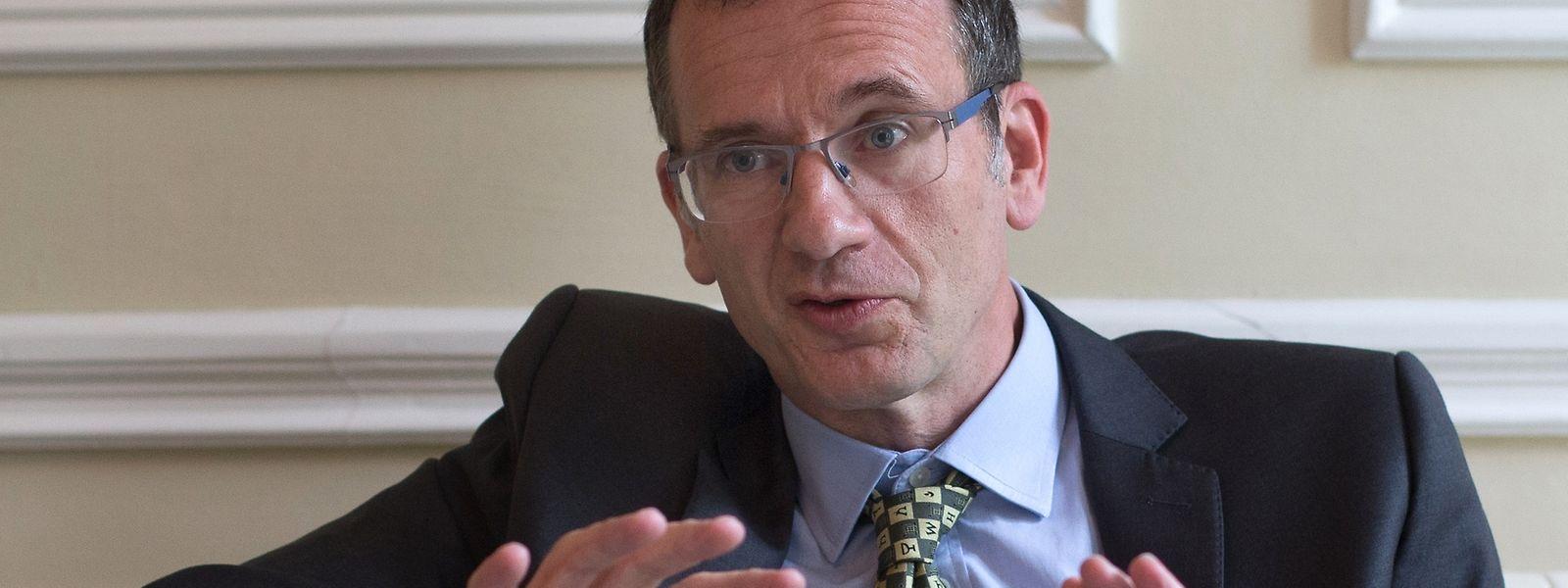 """Botschafter John Marshall: """"All meine Luxemburger Gesprächspartner haben mir gesagt, dass sie den Entschluss des britischen Volkes bedauern, aber respektieren.""""."""