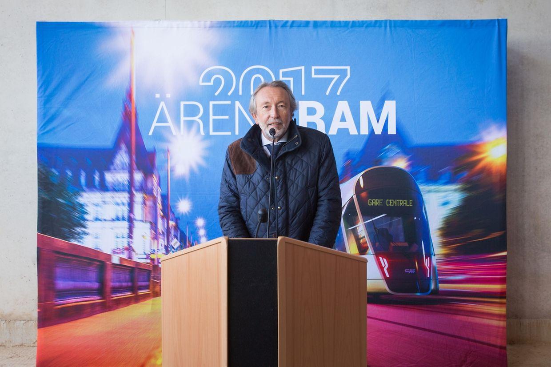 René Biwer, président de Luxtram