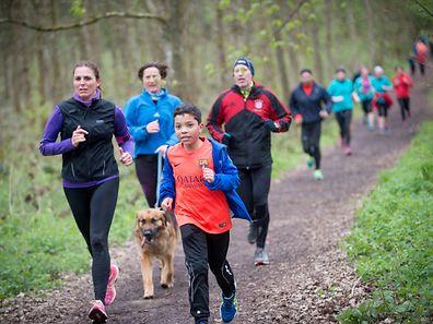 Ob jung oder alt: Hunderte Läufer kamen zur 13.Auflage der Veranstaltung.