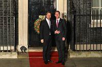 Le Premier ministre Xavier Bettel et son époux Gauthier Destenay étaient conviés à un dîner à la résidence du Premier ministre britannique, Boris Johnson en marge de la réunion de l'OTAN, mardi soir à Londres