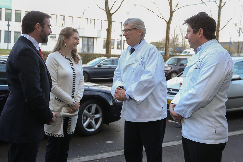 Erbgroßherzog Guillaume und seine Frau Stéphanie besuchten am Donnerstag die Produktionsstätte von Namur in Hamm.