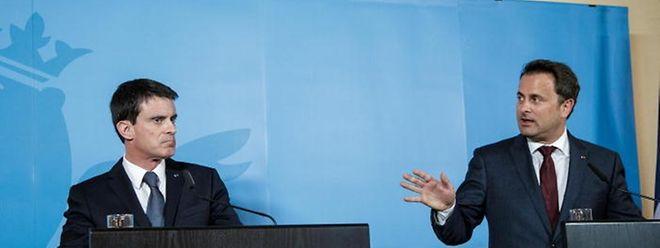 Commencez d'abord par régler le mille-feuille institutionnel, semble dire Xavier Bettel à Manuel Valls. L'ex-Premier ministre français avait reçu un rapport pointant les inefficacités de l'organisation politique en Lorraine