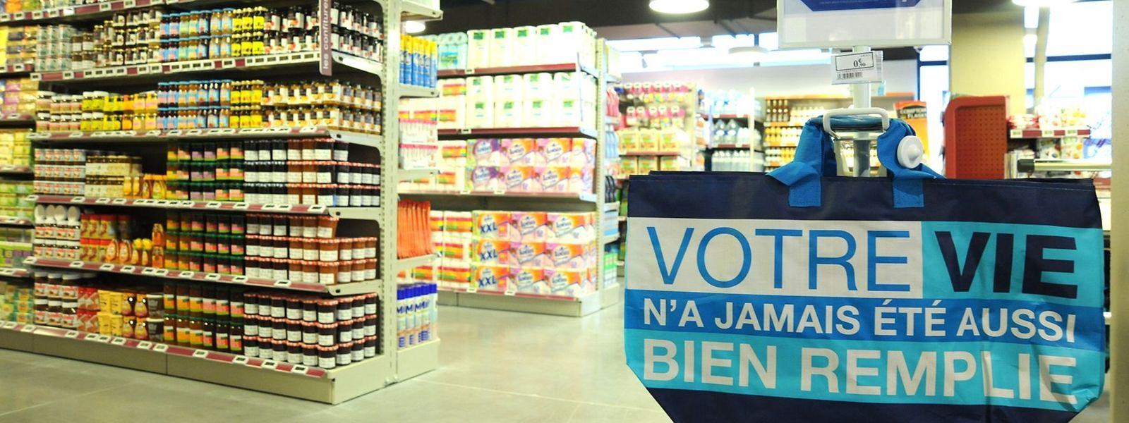 Le premier supermarché Monoprix du pays a ouvert en 2014, rue du Fort Bourbon déjà à Luxembourg.