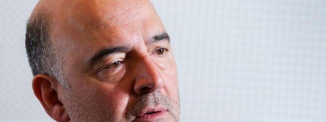 """O comissário europeu, Pierre Moscovici afirma que """"não há tempo a perder"""""""