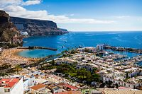 Traumurlaub am Strand: Mit solchen Bildern will Gran Canaria Touristen anlocken. Da passen Migranten nicht ins Bild.