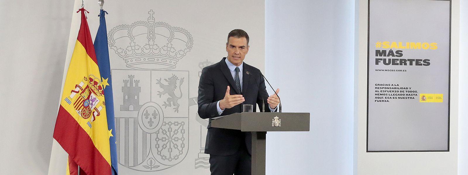 Le Premier ministre espagnol Pedro Sanchez se dit «inquiet face à l'évolution de l'épidémie à Madrid»
