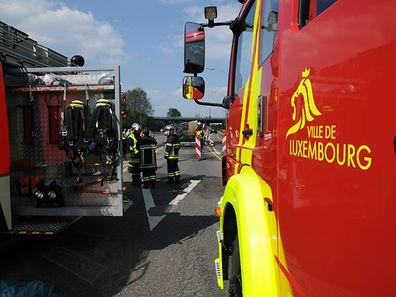 """Nach der Umsetzung der Reform sollen die neuen Berufsfeuerwehrleute vom """"Corps grand-ducal d'incendie et de secours"""" übernommen werden."""