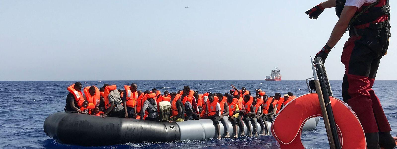 2018 sind insgesamt 2.277 Menschen bei der Flucht über das Mittelmeer ertrunken, so die Zahlen des UNHCR. Bis Anfang August 2019 waren es 840.