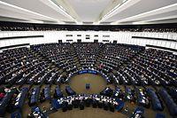Das EU-Parlament tagt derzeit in Straßburg.