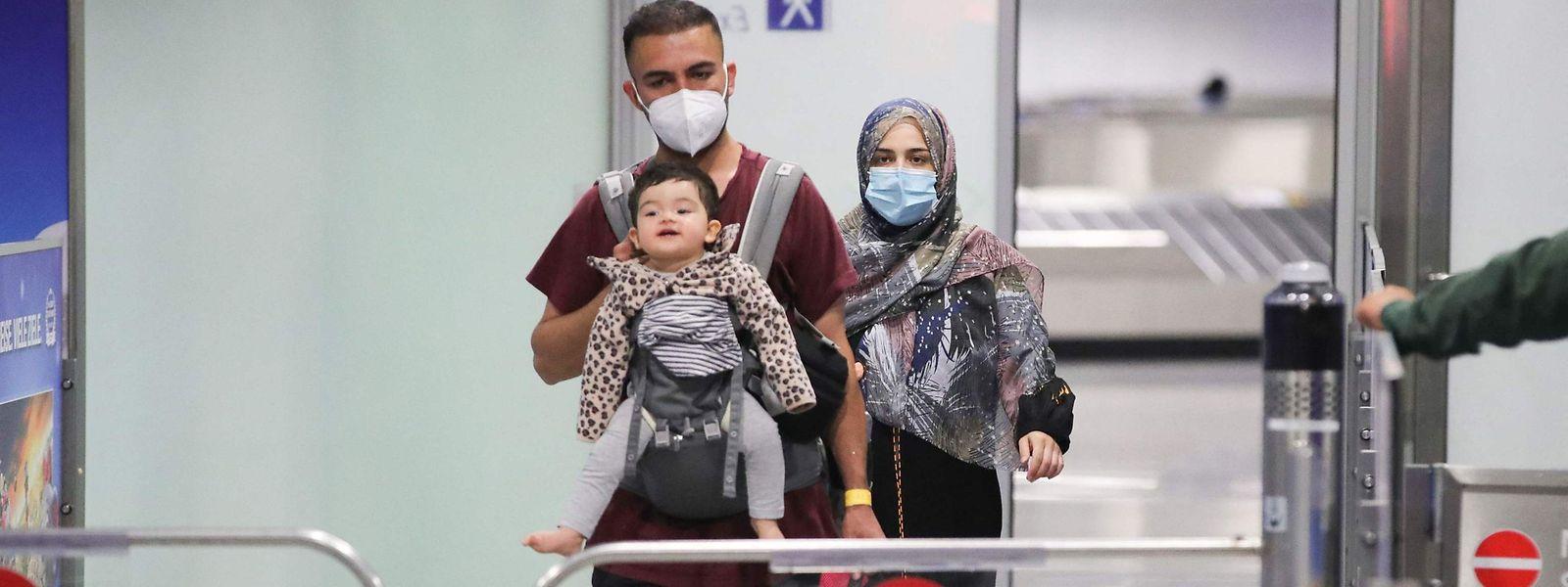 Le premier vol de Lufthansa transportant 130 évacués afghans a atterri ce mercredi matin à Francfort.