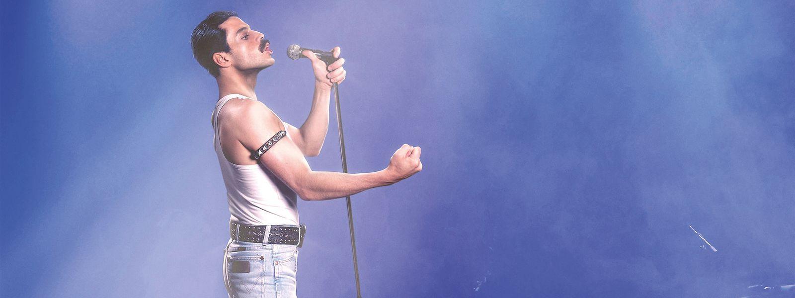 Rami Malek spielt eine Legende des Rock: Freddie Mercury war dereinzigartige Queen-Frontmann.