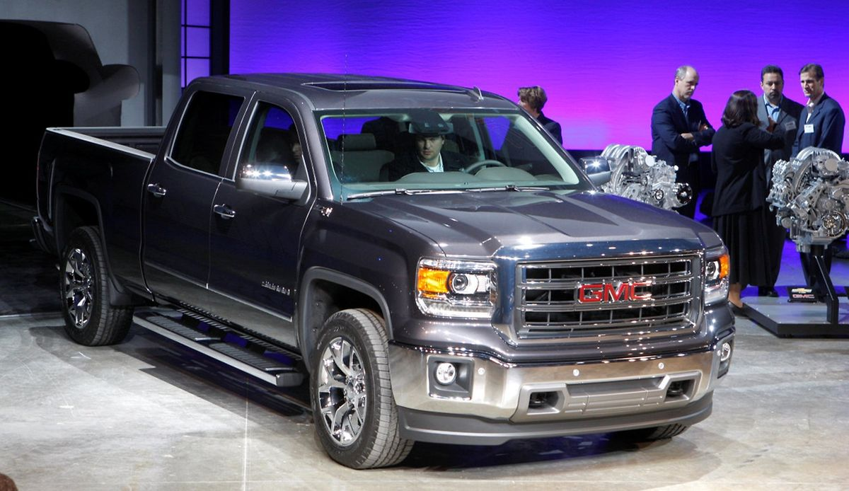 GMC Sierra Pickup-Truck von General Motors