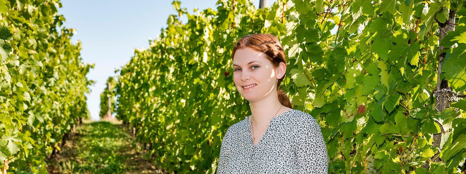 Fabienne Demuth ist der zweite Spross der Familie im Amt der Rieslingkönigin. 2015 trug ihre Schwester Laura die Krone.