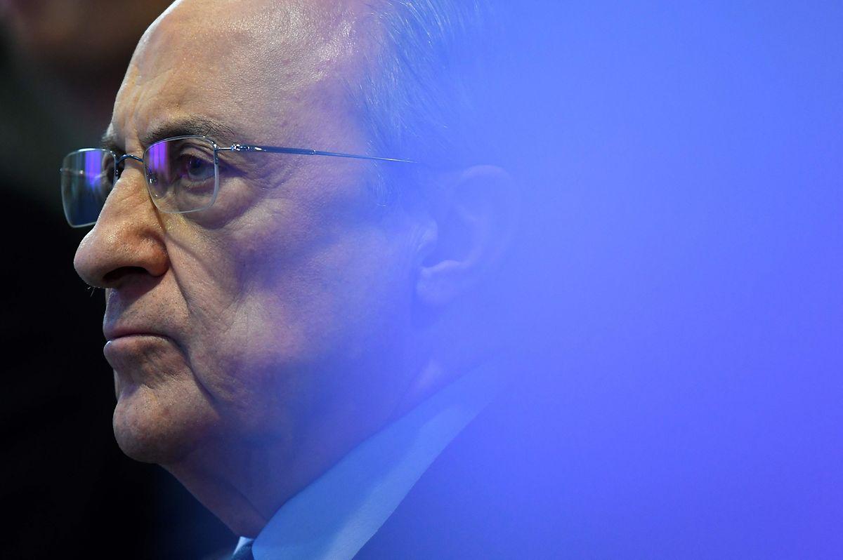 Real Madrids Präsident Florentino Perez ist der erste Vorsitzende der Super League.