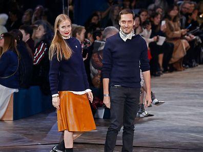 Serge Ruffieux lors d'un défile de Dior Haute Couture