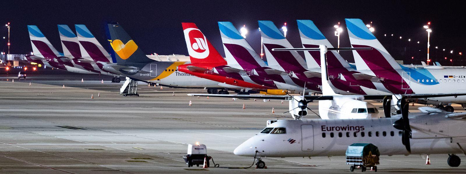 Von dem Streik betroffen sind nach Angaben des Flughafenverbands ADV etwa 111 000 Reisende.