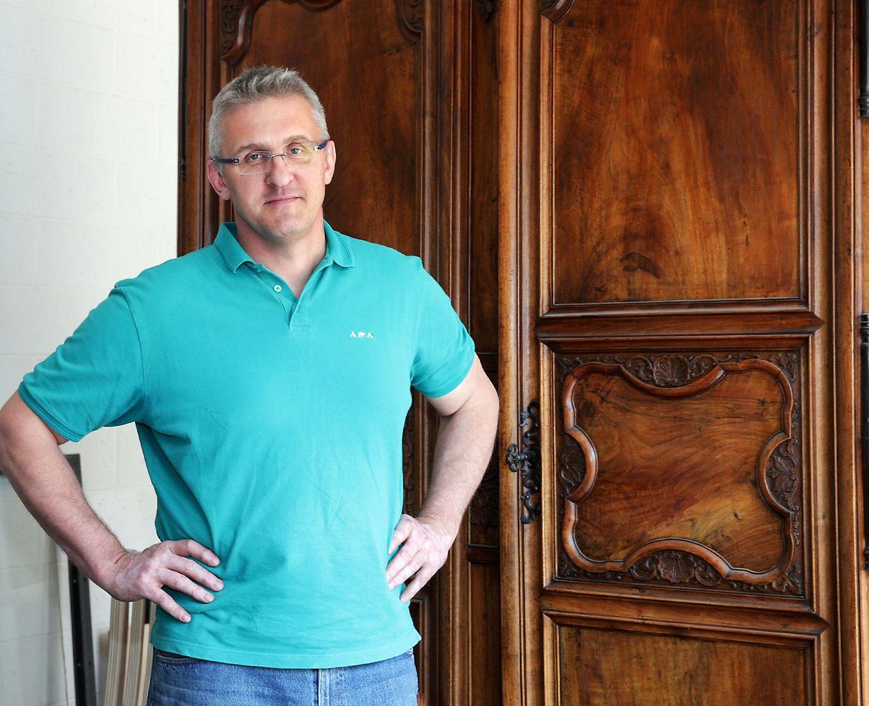 Igor Muller hat in der Kunstschreinerei ein solides berufliches Standbein gefunden.