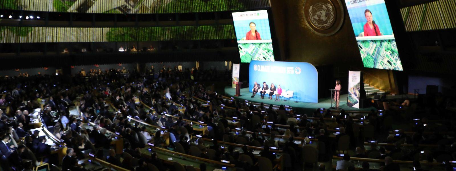 Un sommet mondial de l'ONU se déroulait ce lundi 23 septembre à New-York.