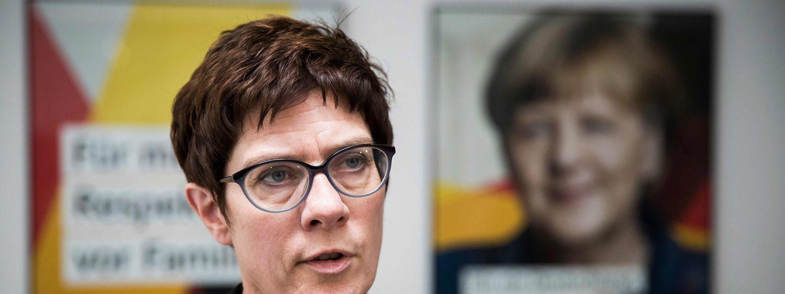 CDU-Generalsekretärin Annegret Kramp-Karrenbauer bewirbt sich für den Parteivorsitz.
