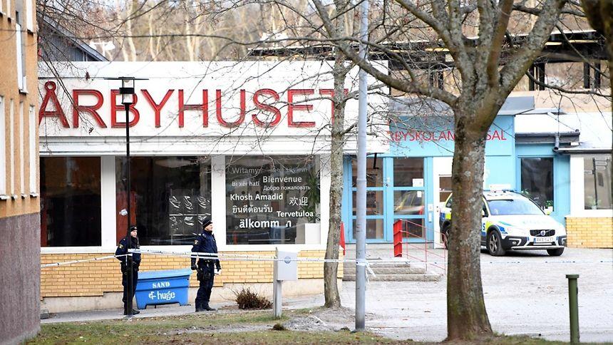 Stockholm: Ein Toter nach Explosion vor U-Bahn-Station