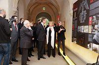Contacto, Panorama, Abtei Neumünster, Ausstellung Portugal und Luxemburg, Grossherzog Henri bestaunte die Ausstellung, Foto : ANOUK ANTONY/LUXEMBURGER WORT
