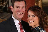 Die britische Prinzessin Eugenie gibt ihrem Verlobten Jack Brooksbank am Freitag das Ja-Wort.
