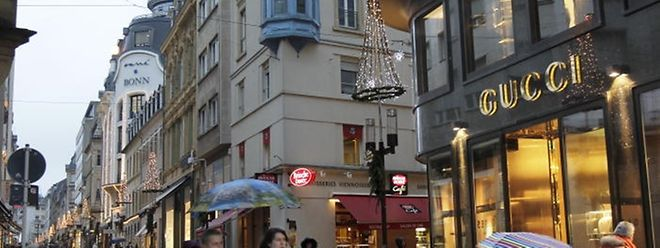 09.01.13 magasin de luxe au centre ville luxembourg, luxus luxusgeschaefte in der hauptstadt luxemburg, philippe II, photo: Marc Wilwert
