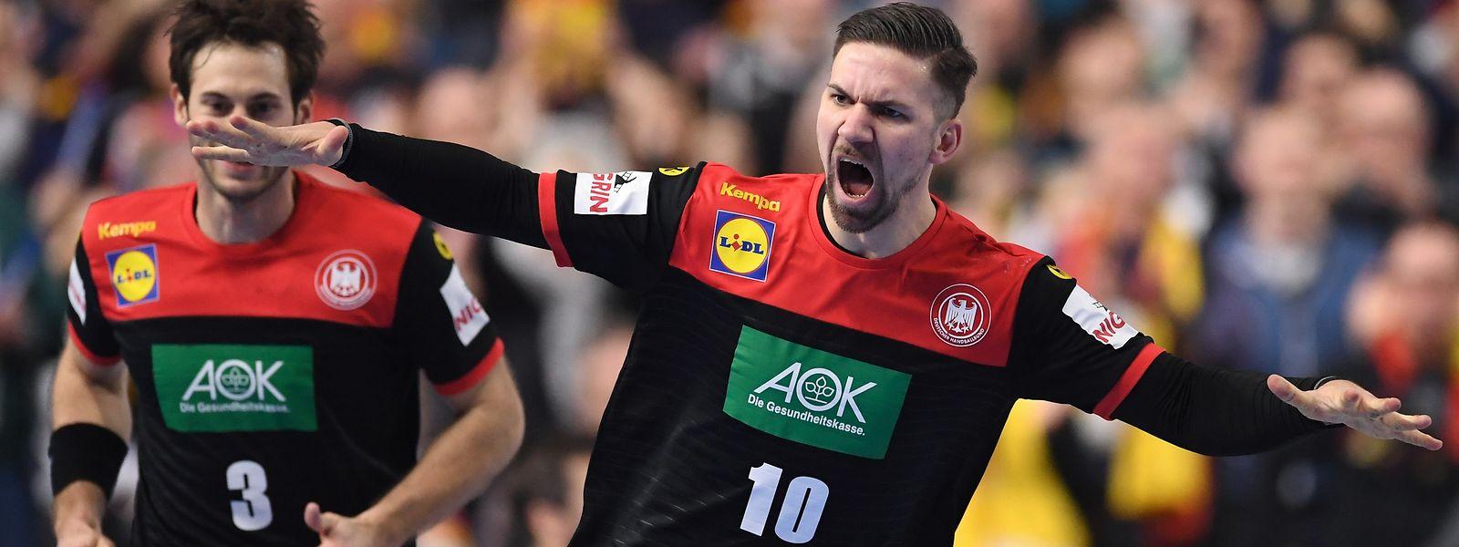 Fabian Wiede wird zum Spieler der Partie gewählt.