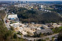 Lokales - Baustelle Villeroy & Boch, Rollingergrund  - Foto: Pierre Matgé/Luxemburger Wort