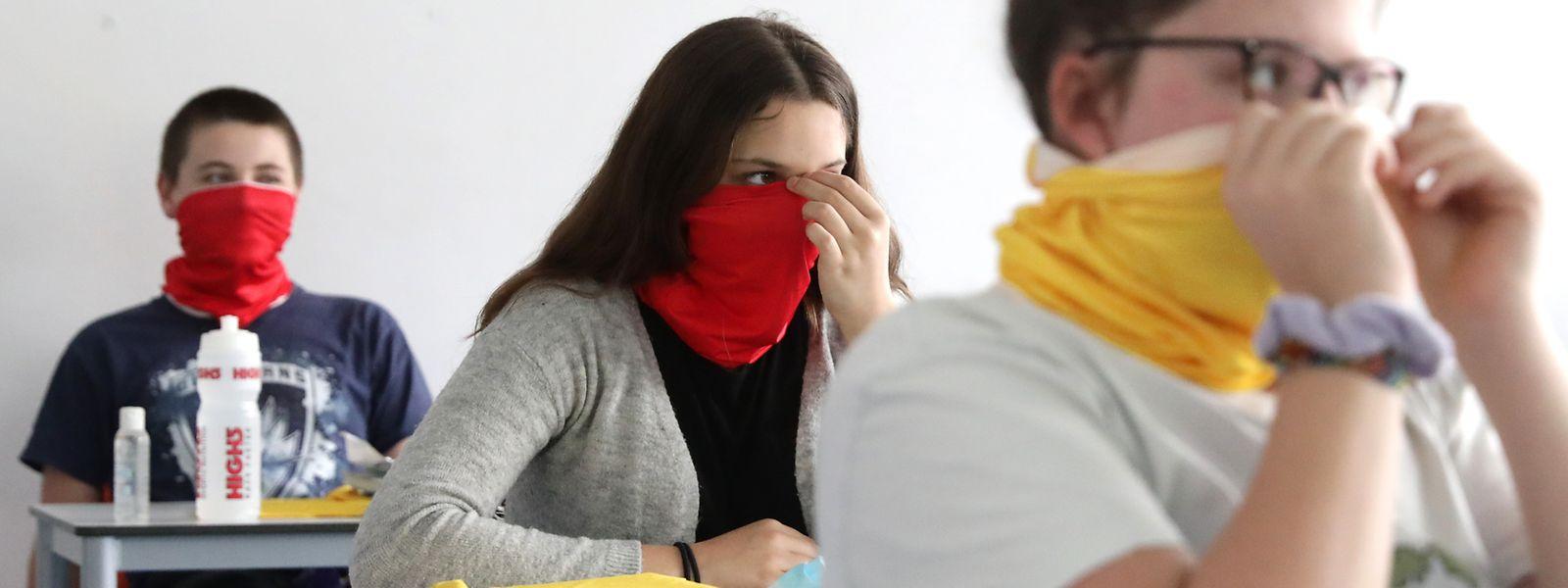 Le terme «buff», utilisé dans les discours du ministre de l'Education nationale, a fait que la marque est perçue comme un dispositif de protection contre le virus.