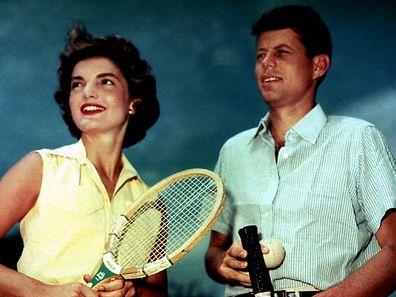 """Politiker, Ehemann, Lebemann: Trotz unzähliger Gerüchte um Affären hielt Jackie Kennedy stets zu ihrem """"Jack""""."""