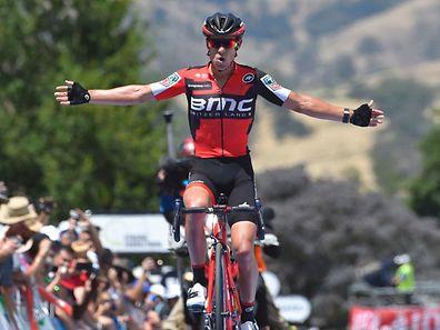 Double succès pour Richie Porte, une victoire d'étape et la tête du classement général.