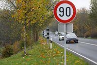 Lokales, Radar, Gonderingen, Gonderange, Testphase, Streckenradar,  Foto: Anouk Antony/Luxemburger Wort