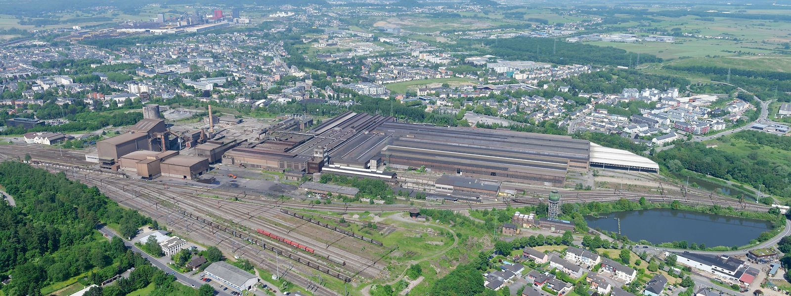 """Das frühere Produktionsgelände erstreckt sich auf 54 Hektare. Acht weitere sind im Besitz des """"Fonds du Rail""""."""