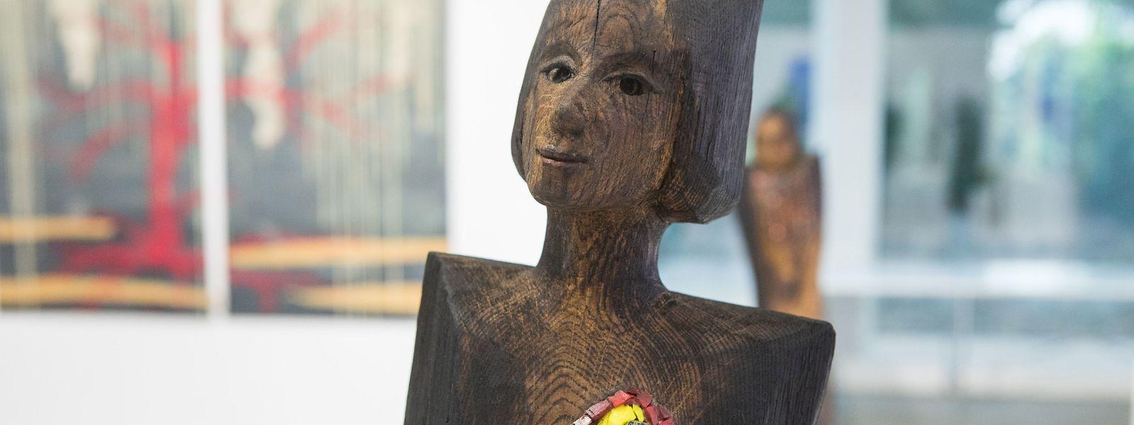 Marie-Josée Kerschen zeigt ihre Arbeiten aktuell in der Valentiny Foundation in Remerschen.