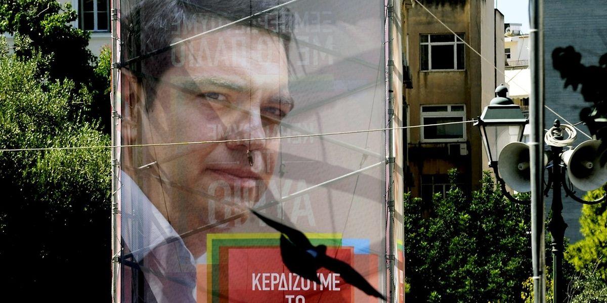 Alexis Tsipras muss im Vergleich zu den Wahlen vom Januar deutliche Verluste hinnehmen.