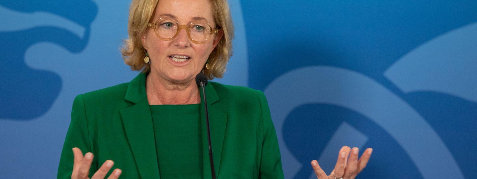 Gesundheitsministerin Paulette Lenert: Erstmals steht eine Frau auf Platz eins im Politmonitor.